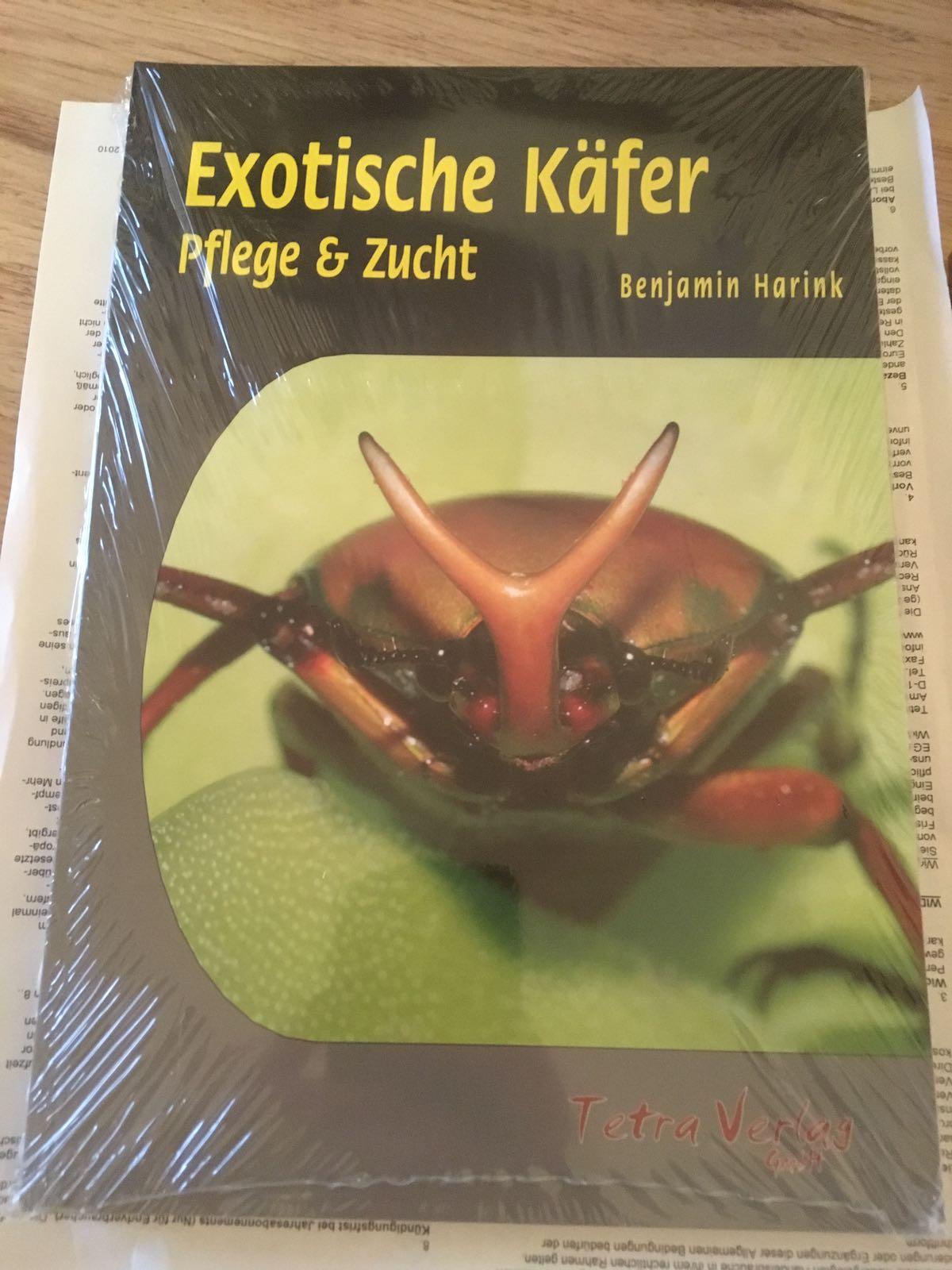 Beetle Breeding book finally published – Exotische Kaefer – Pflege und Zucht